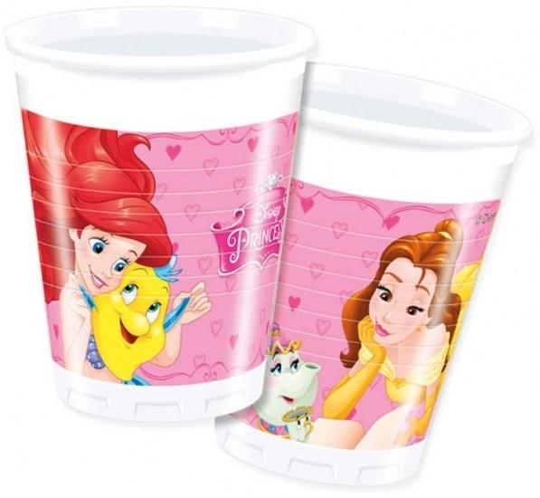 Disney Bekertjes Princess 200 ml: 8 stuks