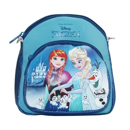 Disney Frozen beautycase blauw 17,5 x 18 x 9,5 cm