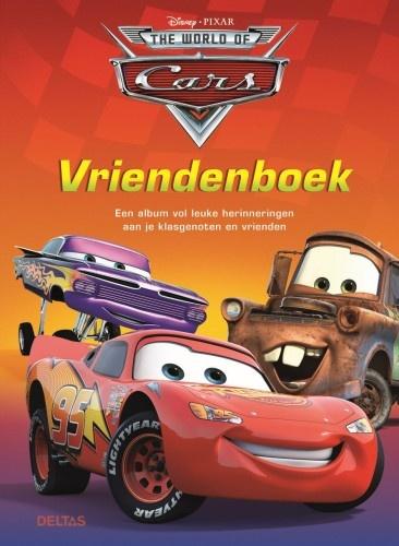 Disney Vriendenboek Cars rood