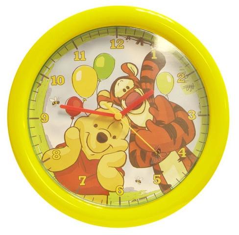 Disney Winnie The Pooh klok junior geel 30 cm