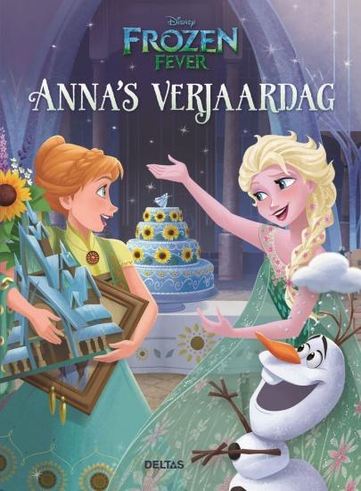 Disney Anna´s verjaardag Frozen Fever