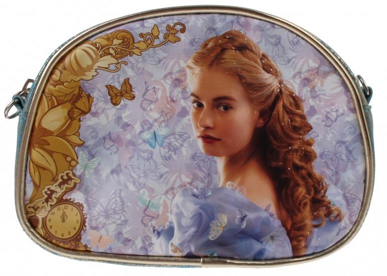Disney Assepoester beautycase blauw 17 x 12,5 x 5 cm