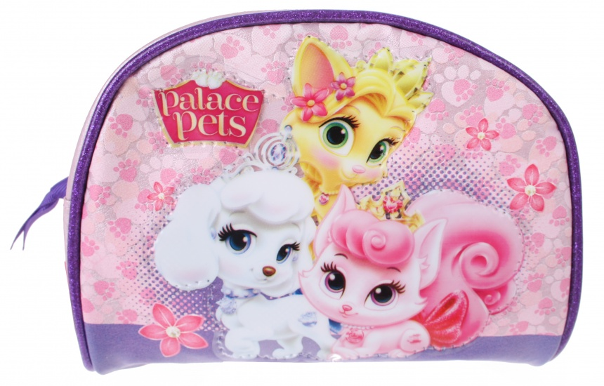 Disney Princess Palace Pets beautycase blauw/roze 17 x 14 cm