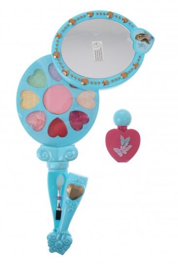 Disney Assepoester cosmetica set 10 delig blauw/groen