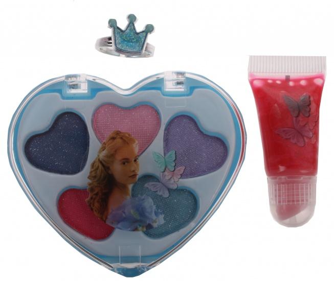 Disney Assepoester cosmetica set 7 delig blauw