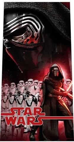 Disney Badlaken Star Wars Kylo Ren 70x140 cm zwart