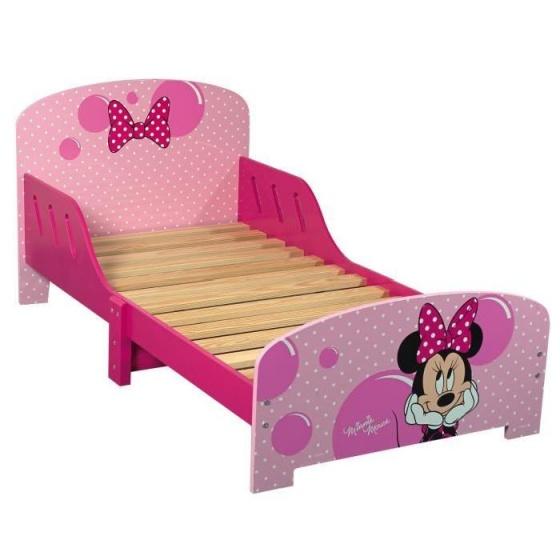 Disney Bed Minnie Mouse roze 73 x 143 x 65 cm
