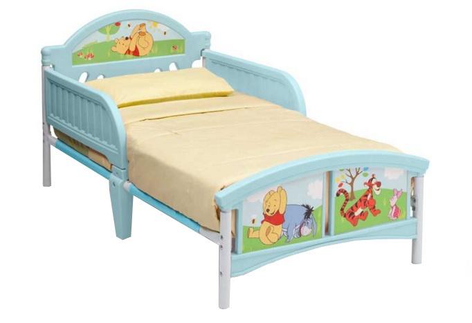 Disney Bed Winnie the Pooh 143 x 77 x 67 cm lichtblauw