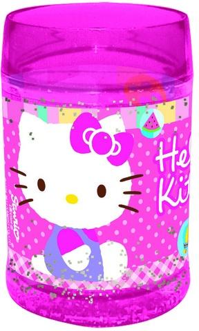 Disney Beker Hello Kitty 11 x 7 cm dubbele wand roze