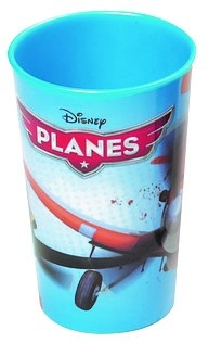 Disney Beker Planes 270 ml blauw