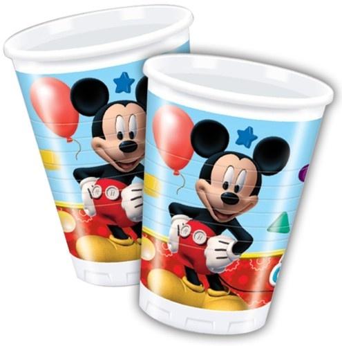 Bekertjes Mickey Mouse 200 Ml: 10 Stuks