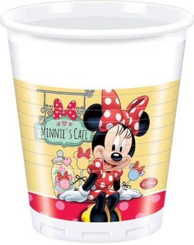 Disney Bekertjes Minnie Mouse 200 ml 8 Stuks