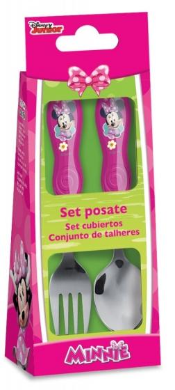 Disney bestekset Minnie Mouse roze kopen