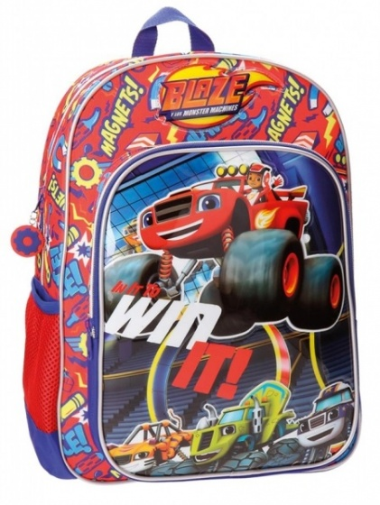 Nickelodeon Blaze Backpack blue