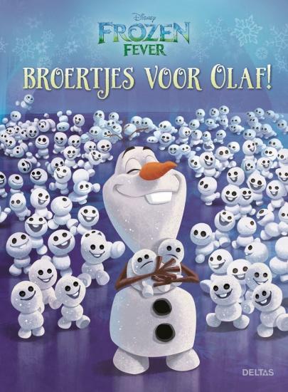 Deltas leesboek: Broertjes voor Olaf Frozen Fever