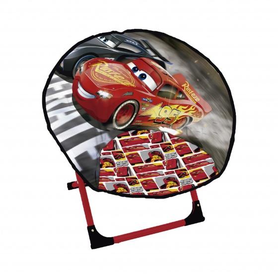 Disney campingstoel Cars jongens rood 50 cm