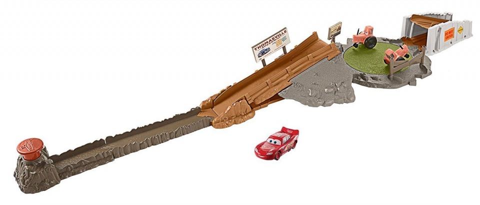 Disney Cars 3 lanceerbaan Smokey�s Challenge 1 meter bruin