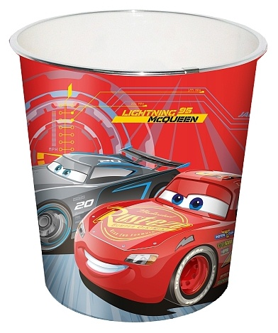 Disney Cars 3 Prullenbak 23 X 24 Cm Rood