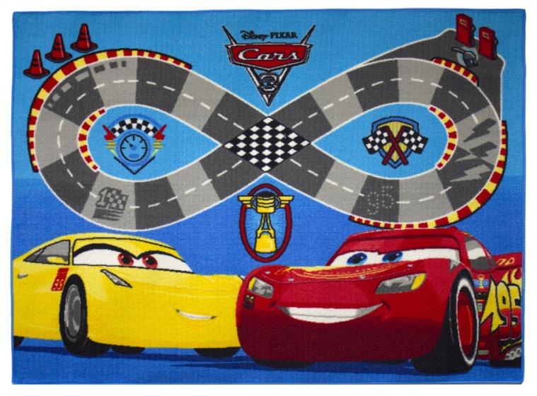 Disney Cars 3 verkeerskleed snelweg 95 x 133 cm