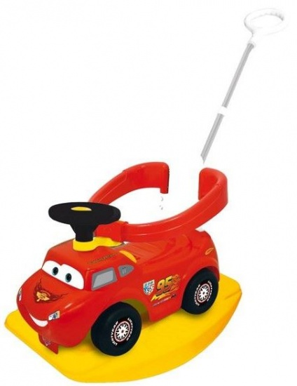 Disney Cars 4 in 1 activity racer rood