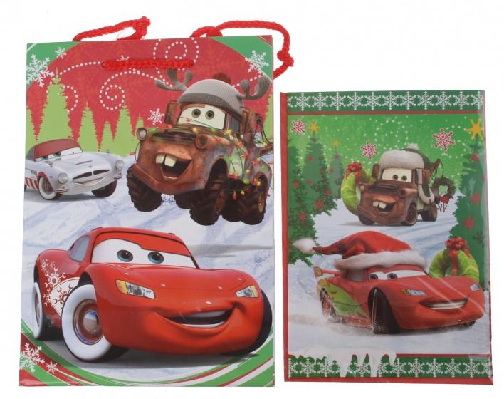Disney Cars cadeautas en wenskaart 24 x 17 cm