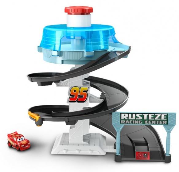 Mattel Cars draaiende racebaan