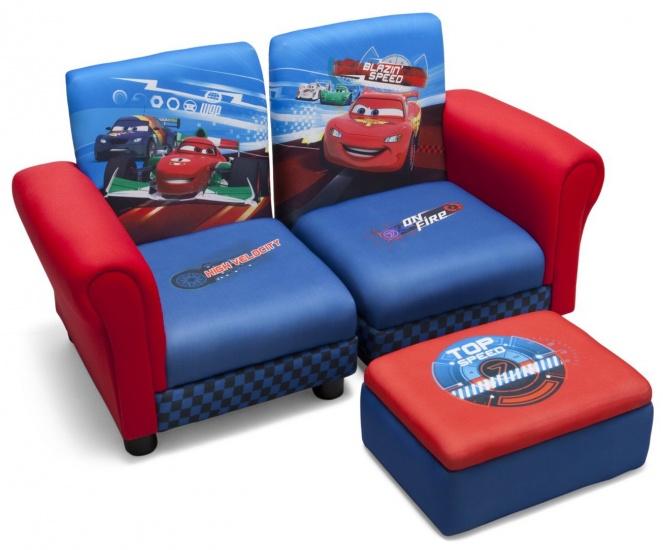 Disney Cars Gestoffeerde Stoelen Set 3 Delig