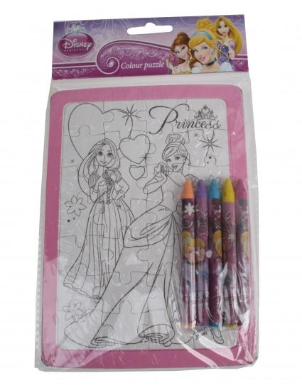 Disney Princess Kleurpuzzel