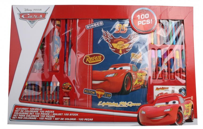 Disney Cars Kleurset 100 delig