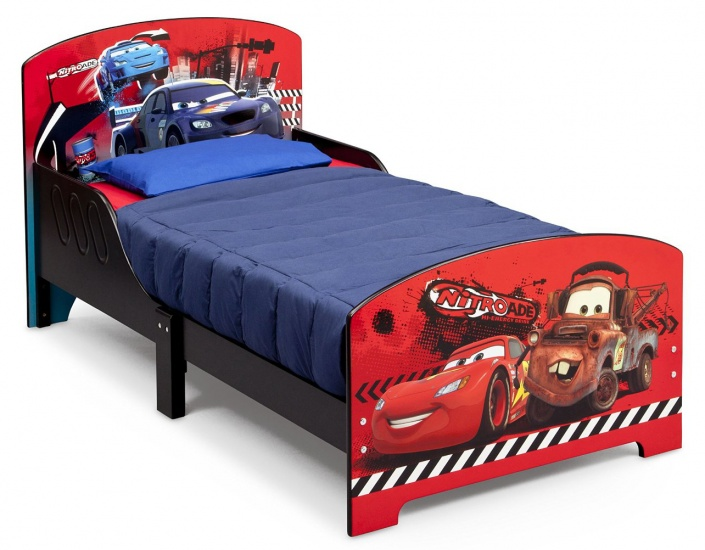 Disney Cars Kleuter Bed Hout Rood
