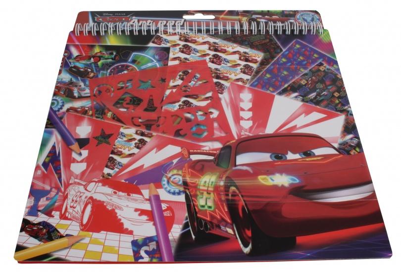 Disney Cars Knutselboek met stickers
