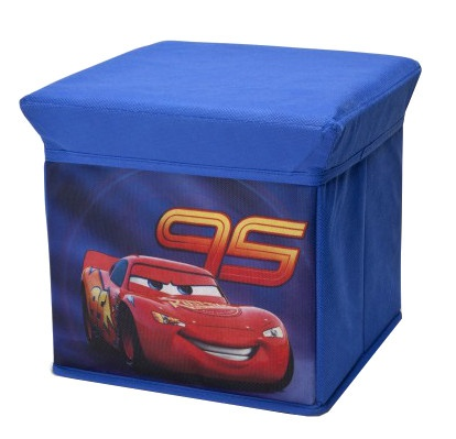 Disney Cars Opbergbox blauw 23 x 23 x 23 cm