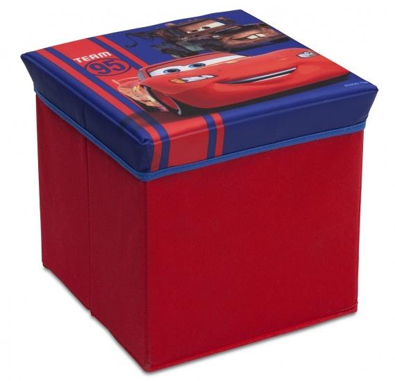 Disney Cars Opbergbox rood 23 x 23 x 23 cm