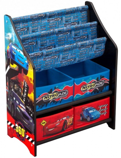 Disney Cars Speelgoed Opbergkast Met Boekenrek