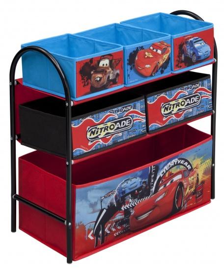 Disney Cars Speelgoed Opbergkast Staal