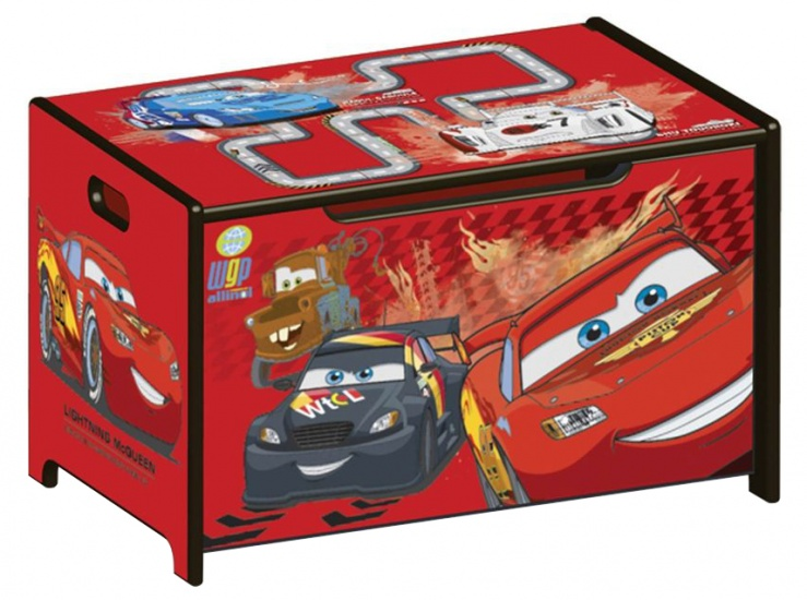 Disney Cars Speelgoed Opbergkist Rood