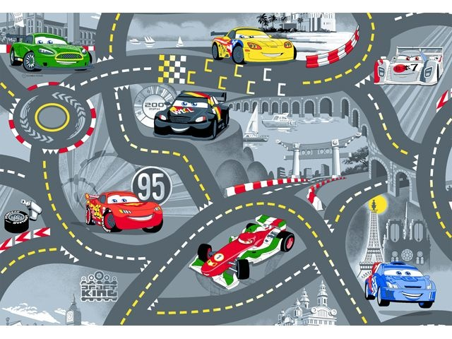 Disney Cars Speelmat World 95x133 cm