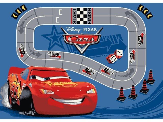 Disney Cars Verkeerskleed Race 95x133 cm