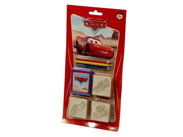 Stempelset Disney Cars 3 Stempels