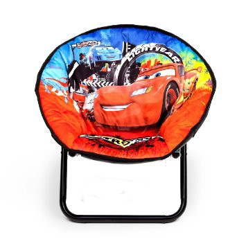 Disney Cars Stoel Saucer rood/blauw 51,5 x 44,5 x 46 cm