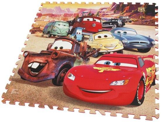 Disney Cars vloerpuzzel 9 delig