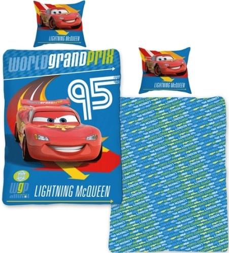 Disney dekbedovertrek Cars 2 blauw 140 x 200 cm