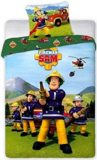 Brandweerman Sam team dekbed
