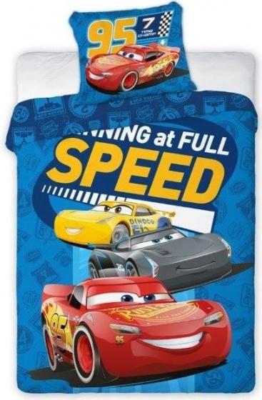 Disney dekbedovertrek Cars 100 x 135 cm blauw kopen