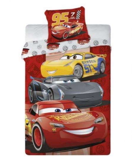 Disney Dekbedovertrek Cars rood 140 x 200 cm kopen