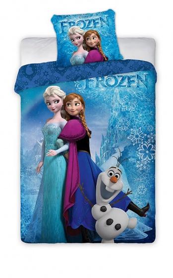 Disney Dekbedovertrek Frozen blauw 140 x 200 cm kopen