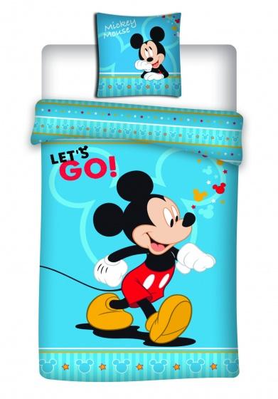 Disney dekbedovertrek Mickey Mouse 140 x 200 cm blauw kopen