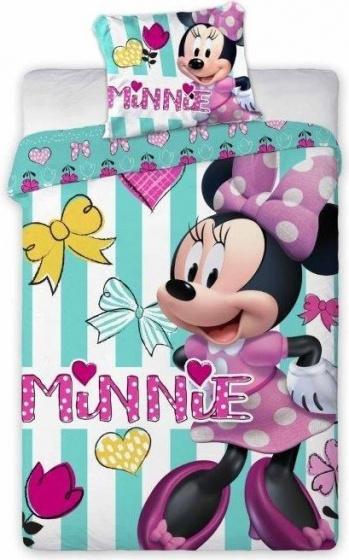 Dekbed Minnie Mouse ledikant hearts: 100x135-40x60 cm