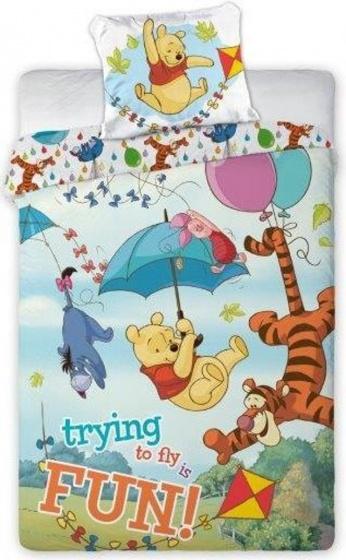 Disney dekbedovertrek Winnie The Pooh 140 x 200 cm kopen