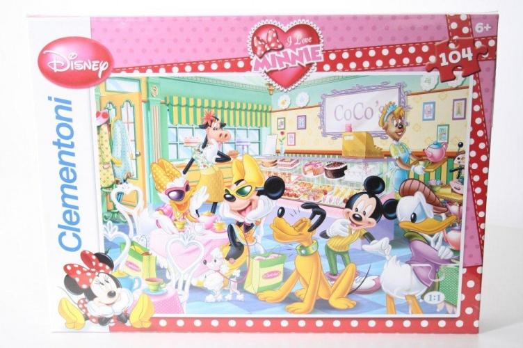 Disney Disney Puzzel Minnie 104st